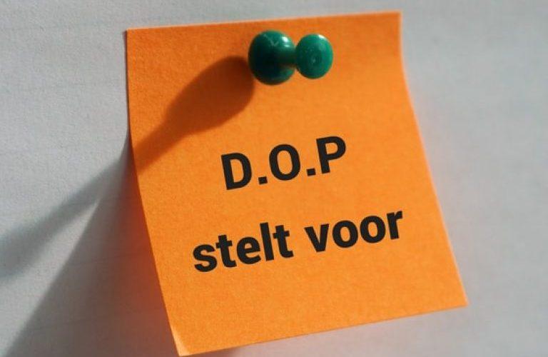 D.o.p. Ovl Stelt Voor